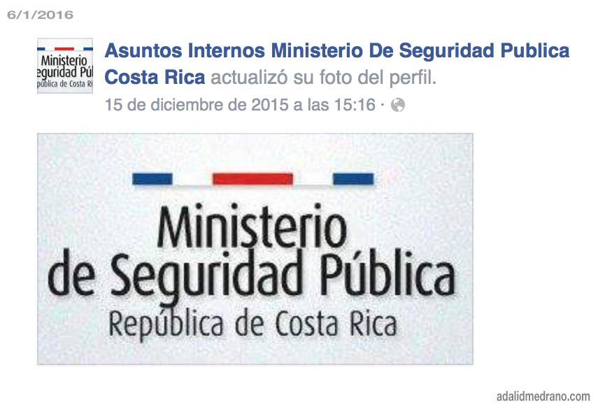 asuntos internos ministerio seguridad